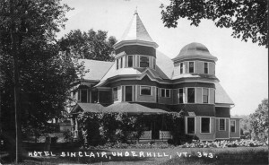 Click to enlarge an historic view of Hotel Sinclair.